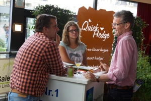 Quick Hedge als partner van GardenExperience 2013